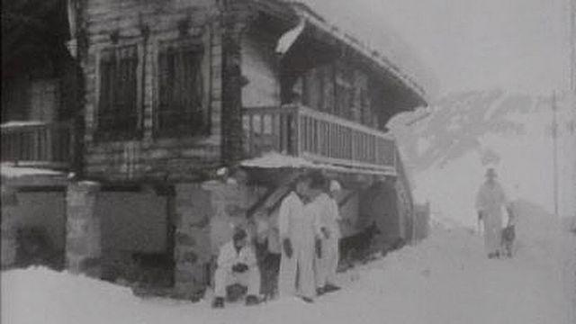 Verbier en hiver 1969 [RTS]