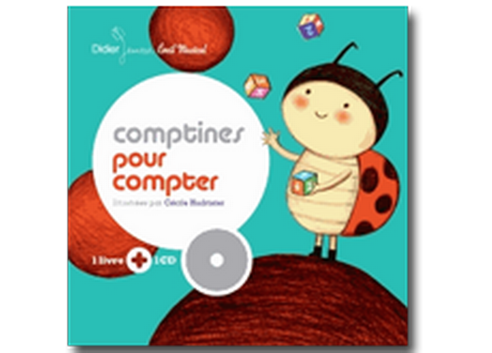 """""""Comptines pour compter"""" de Cécile Hudrisier. [RTS]"""