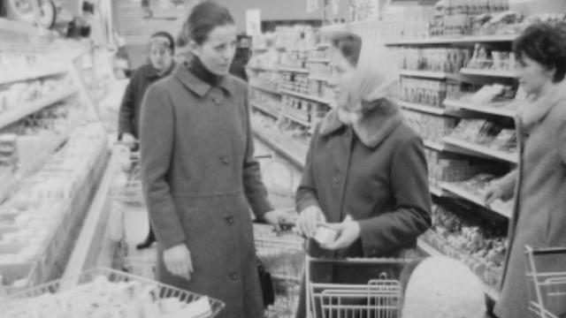 Ménagère 1969 [Archives TSR]