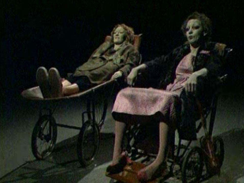 """""""Solange et Marguerite"""", par le Théâtre des Osses, 1981. [RTS]"""