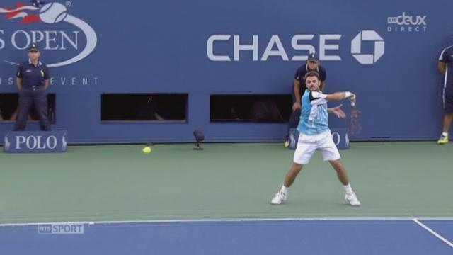 Stan Wawrinka (SUI-3) – Kei Nishikori (JPN-10) (6-3 5-7 6-7 (7-9)). 3e manche: du suspense à revendre dans le tie-break [RTS]