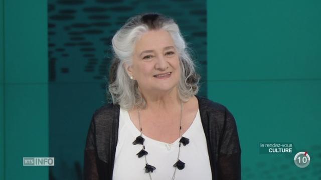 L'invitée culturelle: l'auteur québecoise Marie Laberge publie son deuxième polar « Mauvaise Foi » [RTS]