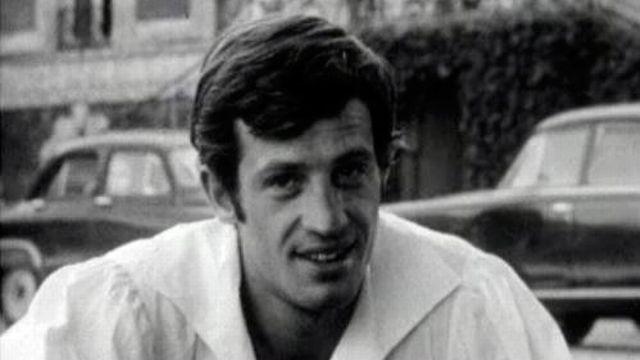 Belmondo sur le tournage de Cartouche, star incontesté.