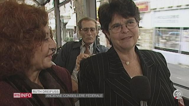 La Suisse est le pays où les ministres prennent le tram et le train comme tout le monde [RTS]