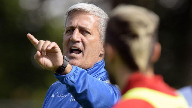 Vladimir Petkovic, entraîneur de l'équipe suisse de football. [Walter Bieri - Keystone]