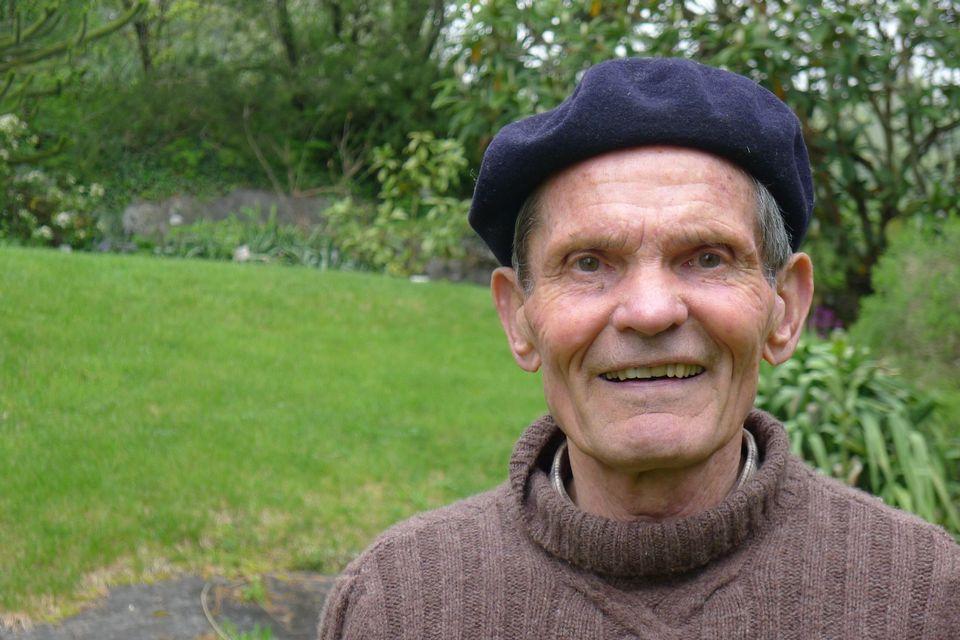 William Aviolat, le propriétaire du jardin de Saint-Triphon. [Virginie Brawand - RTS]