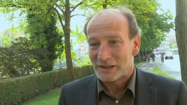 VD: Daniel Von Siebenthal, le syndic d'Yverdon, a déposé sa démission pour le 31 décembre [RTS]