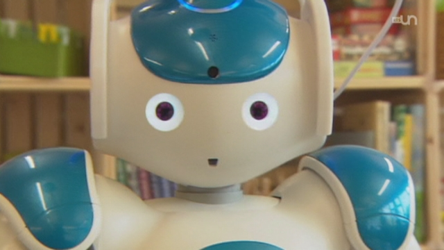 Un robot pour enfants malades [RTS]