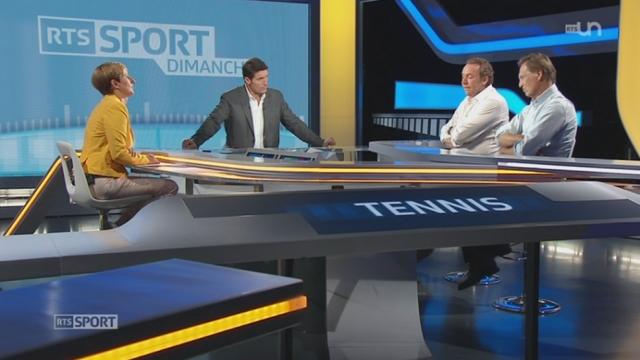 Tennis - Coupe Davis: le point sur la forme de l'équipe de Suisse avant le duel face à l'Italie [RTS]