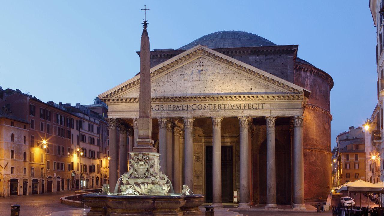Le Panthéon de Rome. [Manuel Cohen - AFP]