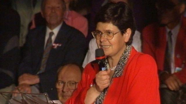 Ruth Dreifuss à Macolin [RTS]