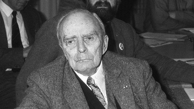 Seán MacBride en 1986 [Gerrits, Roland / Anefo - CC]