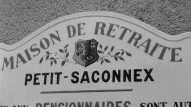 Une nouvelle maison de retraite au Petit-Saconnex, 1966. [RTS]
