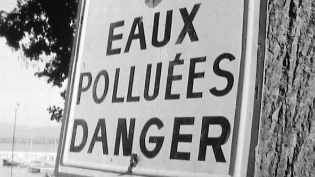 Pollution de l'eau [TSR 1968]