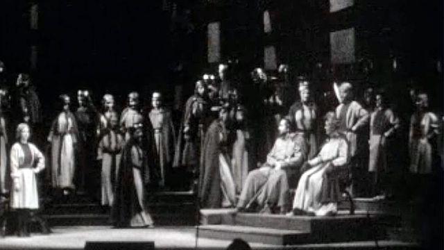 A Genève, le final de l'opéra Tannhaüser ravit le public.