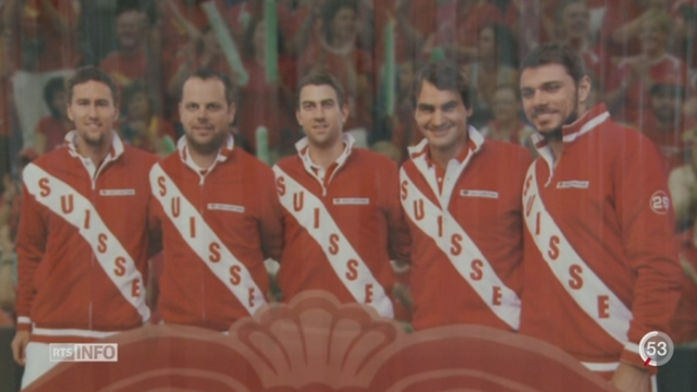 Tennis - Coupe Davis: Federer et Wawrinka joueront contre l'Italie [RTS]