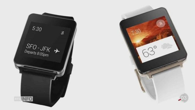 Apple présente son projet de montre intelligente [RTS]