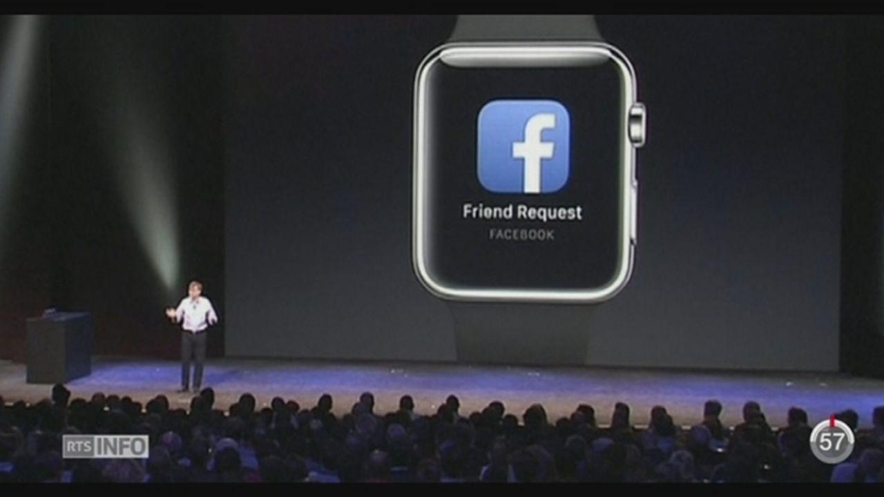 Apple a dévoilé sa, très attendue, montre connectée [RTS]