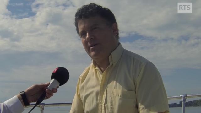 """Fouad Laroui, auteur de """"Les tribulations du dernier Sijilmassi"""" (Ed. Julliard) [RTS]"""