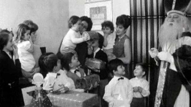 C'est la Saint Nicolas, un instant enchanté pour les enfants.