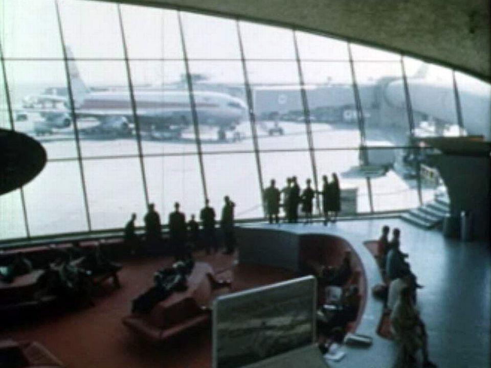 JFK Airport, la porte d'entrée moderne de l'Amérique.