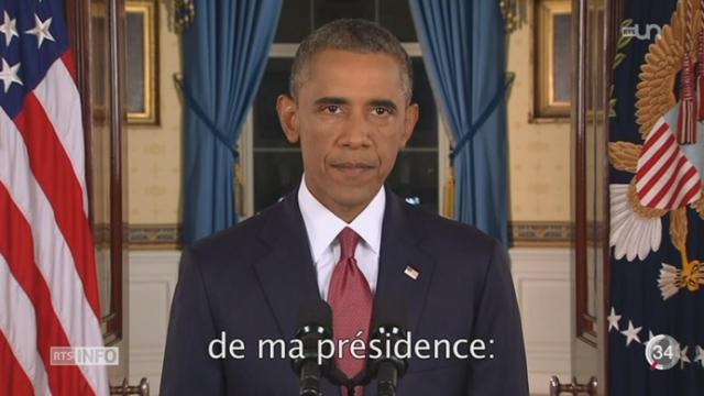 Barack Obama est prêt à frapper les islamistes en Syrie et en Irak [RTS]