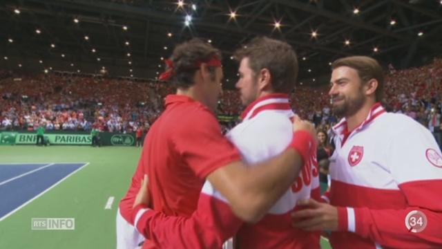 Tennis - Coupe Davis: la Suisse retrouve la finale après 22 ans [RTS]