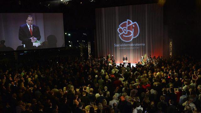 Le social-démocrate Stefan Löfven a annoncé être prêt à former un gouvernement en Suède en tant que Premier ministre. [EPA/JONAS EKSTROMER - Keystone]