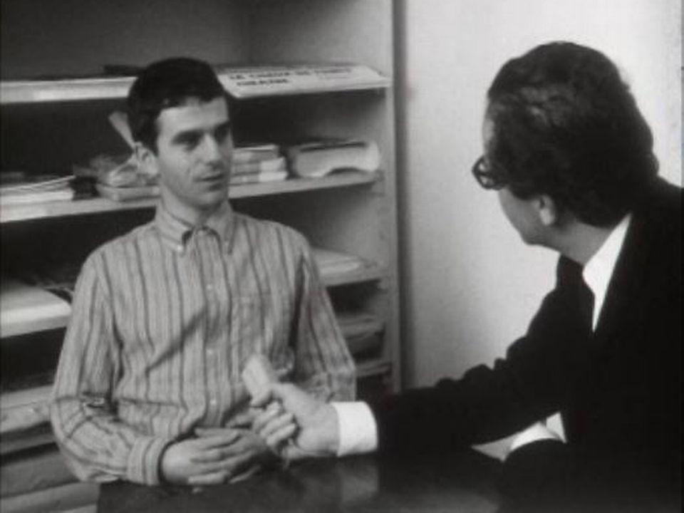 Charles Joris, directeur du Théâtre Populaire Romand (TPR), 1968. [RTS]