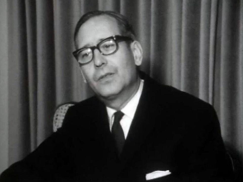 Un hommage à Léopold Boissier membre important du CICR. [RTS]
