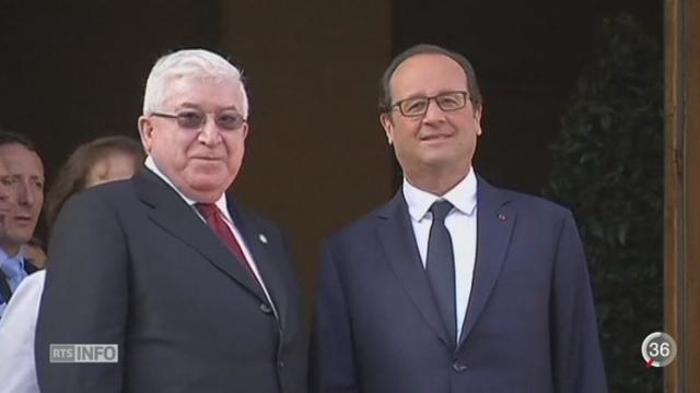 Trente pays se sont rassemblés à Paris pour discuter du combat contre l'Etat islamique [RTS]