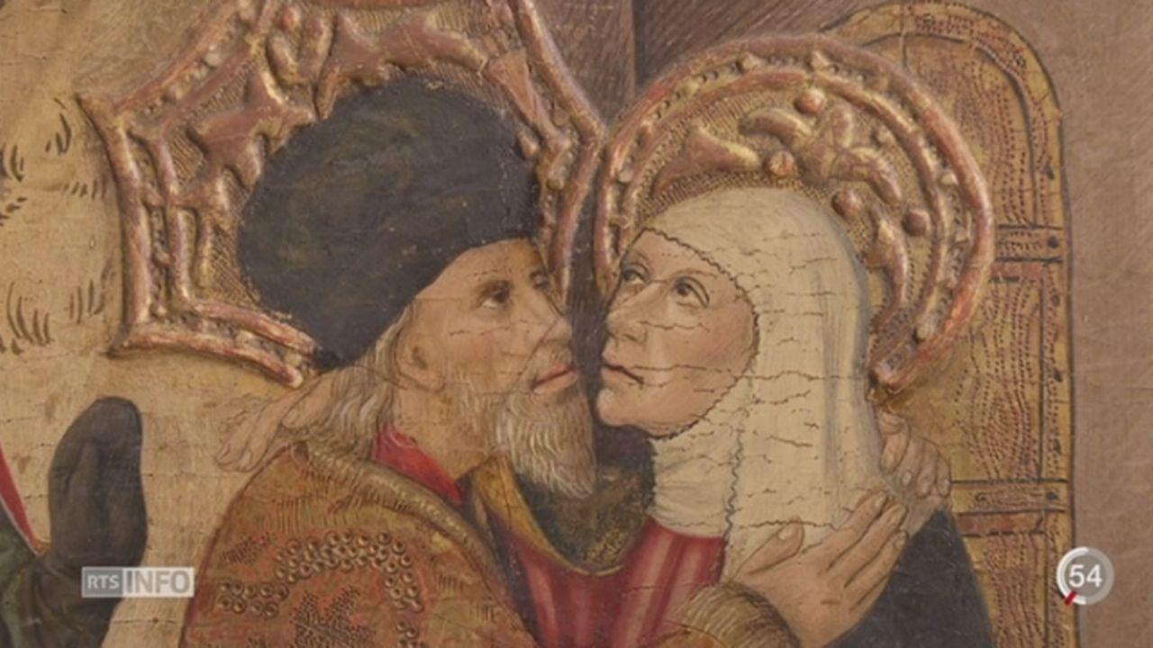 GE: le Musée d'Art d'Histoire reconstitue le parcours de toiles du 15e et du 16e siècle [RTS]