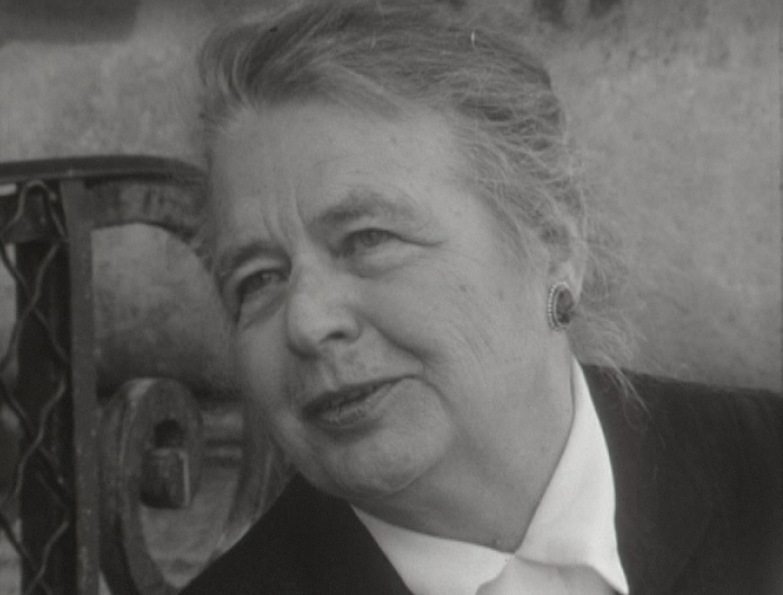 Interview de l'écrivaine Marguerite Yourcenar