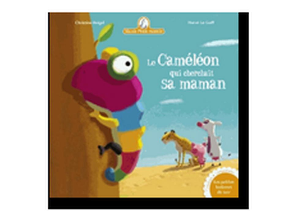 """""""Le caméléon qui cherchait sa maman"""" de Christine Beigel et Hervé Le Goff. [RTS]"""