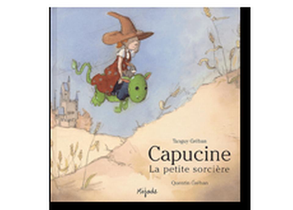 """""""Capucine la petite sorcière"""" de Tanguy Gréban et Quentin Gréban. [RTS]"""