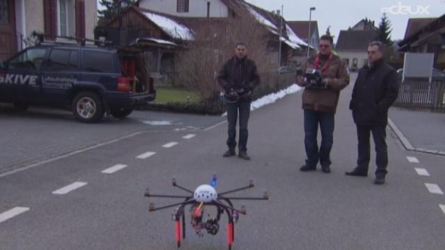 Un drone sur le toit [RTS]