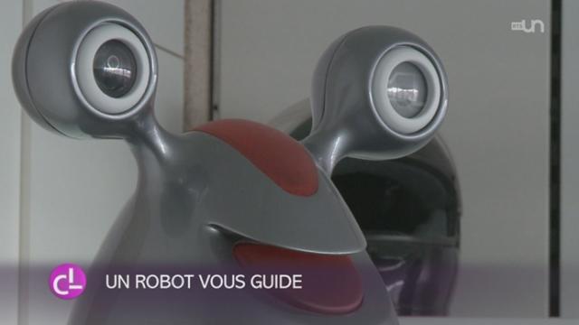 Un robot de la société Bluebotics SA [RTS]