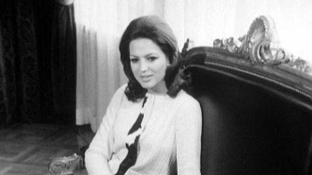 La princesse Ira de Furstenberg, membre de la jet-set.