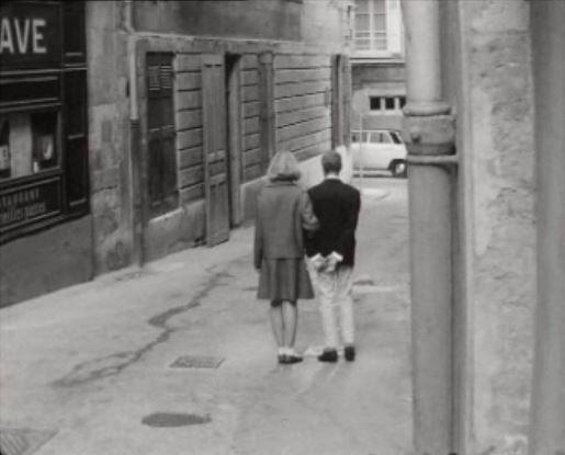 En couple dans la rue