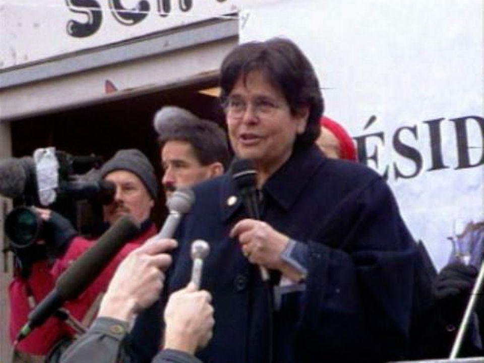 Avec Ruth Dreifuss, un moment de l'Histoire suisse.