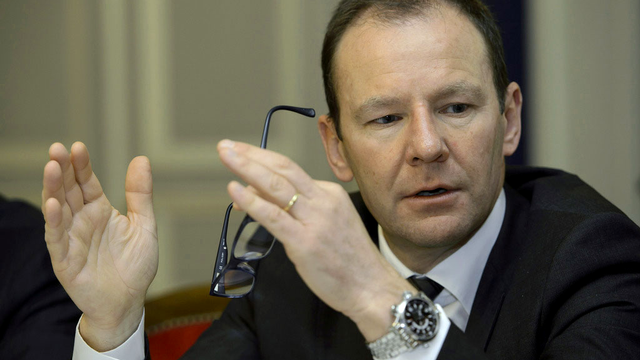 Le conseiller d'Etat genevois Serge Dal Busco. [Keystone]