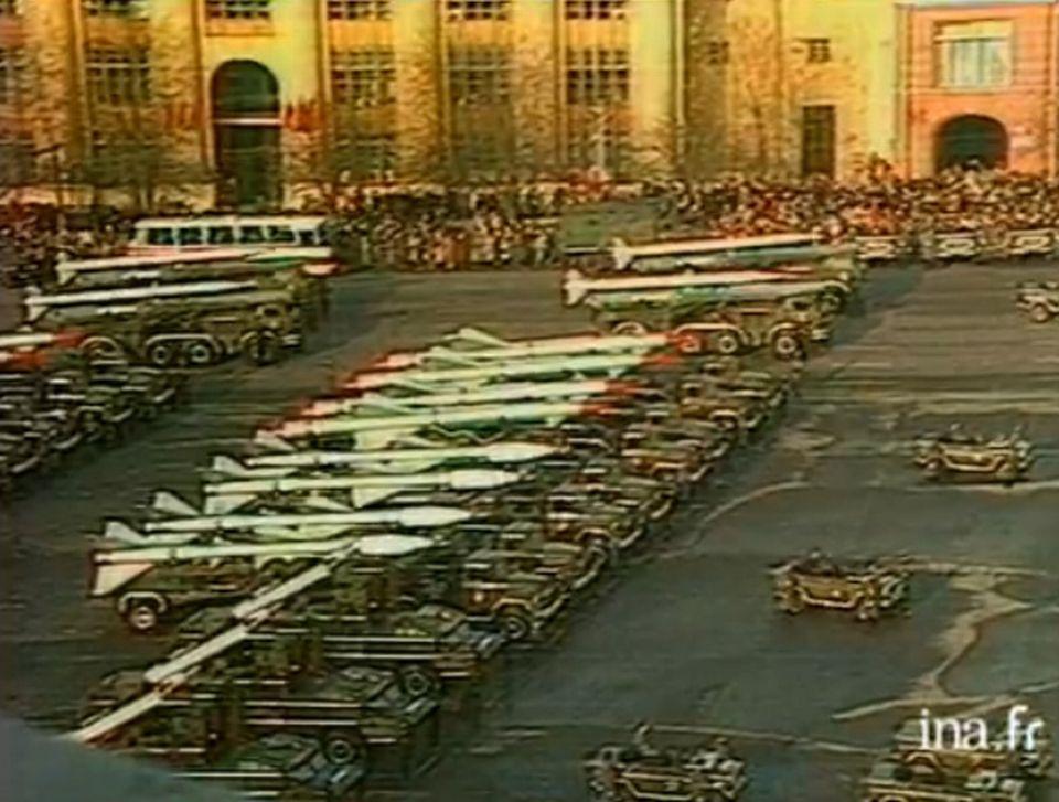 Le Pacte de Varsovie - 14 novembre 1983. [INA]