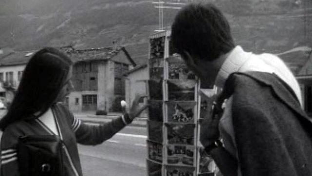 Une visite carte postale du Valais à l'occasion de la foire.