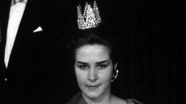 Qui est cette belle inconnue qui remporta le titre en 1963?