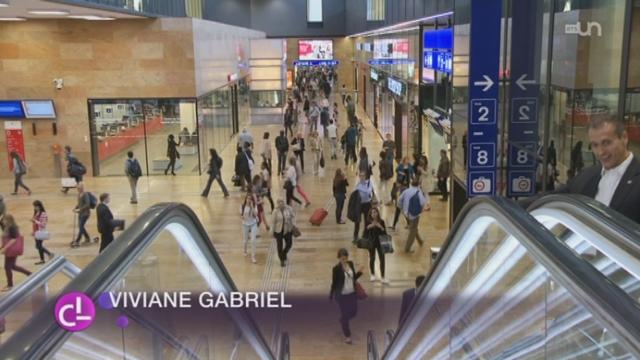 GE: l'inauguration de la gare Cornavin a lieu [RTS]