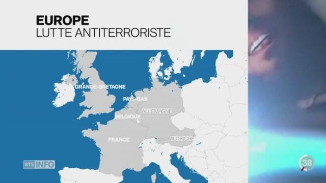 Les pays européens renforcent leur arsenal législatif pour repérer les djihadistes [RTS]
