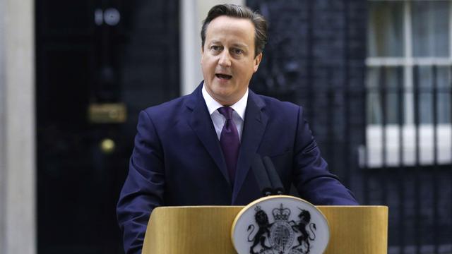 """David Cameron estime que la question de l'indépendance de l'Ecosse était désormais réglée pour """"une génération"""". [Suzanne Plunkett - Reuters]"""