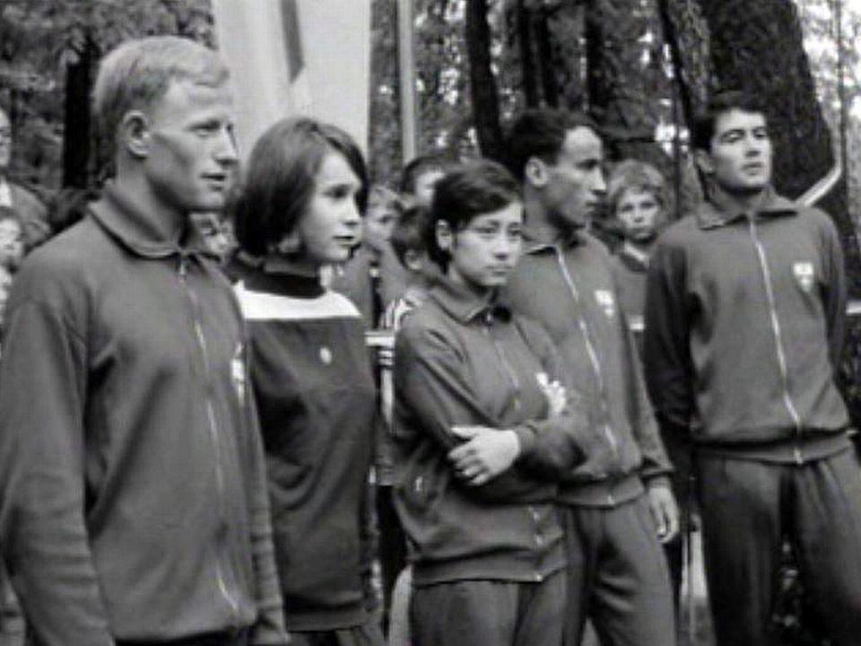 Inauguration officielle d'une installation sportive à Neuchâtel.
