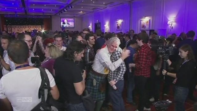 Fête des opposants à l'indépendance écossaise [RTS]