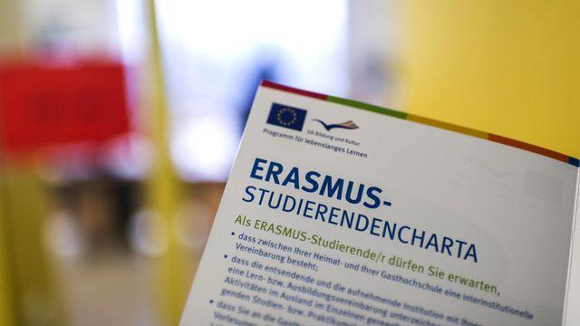 La Suisse réintégrée au programme de recherche européen Horizon 2020 [Christian Beutler - Keystone]